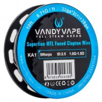 Vandy Vape Superfine MTL Fused Clapton KA1